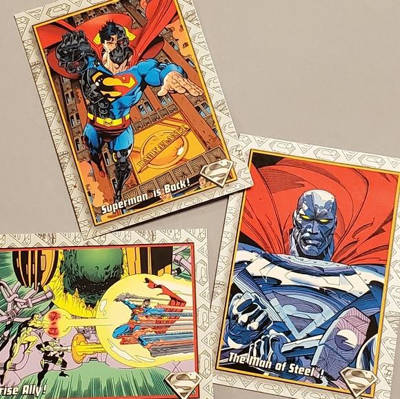 Vintage Superhero Collectible Trading Cards